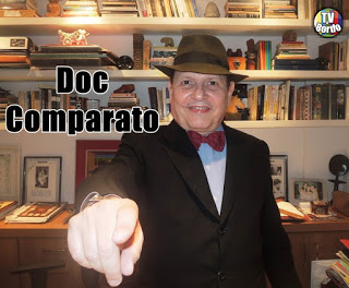 "Doc Comparato ""I have a chronic regret: having quit medicine to become an author."""