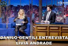 Lívia Andrade no The Noite