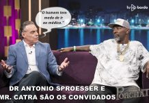 Mr Catra e Dr Antonio Sproesser