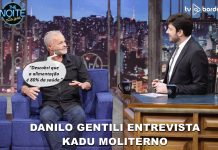 Kadu Moliterno no The Noite