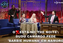 Dudu Camargo no The Noite