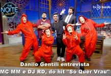 "Danilo Gentili entrevista MC MM e DJ RD, do hit ""Só Quer Vrau"""