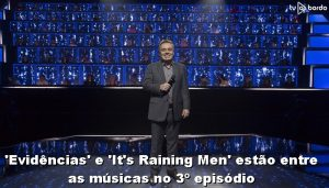 Evidências e Its' Raining Men