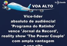 vice-líder absoluto de audiência