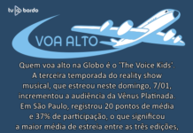 Voa Alto estreia The Voice Kids