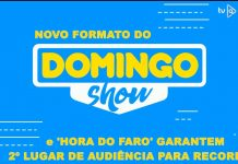 Novo formato do Domingo Show