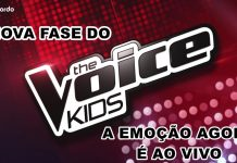 Nova Fase do The Voice Kids a emoção agora é ao vivo