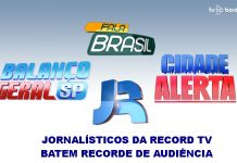 jornalísticos da Record TV