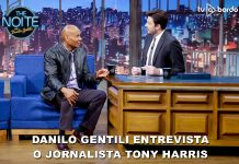 Tony Harris no The Noite