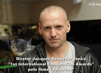 "Diretor Jacques Dequeker vence ""1st International Fashion Film Awards"" por ""Jailbreak"""
