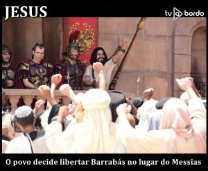 no lugar do Messias
