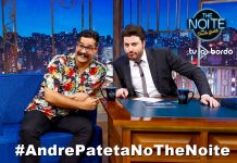 André Pateta no The Noite