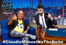 Cláudio Manoel no The Noite