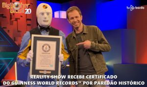 BBB20 recebe certificado do GUINNESS WORLD RECORDS™ por paredão histórico