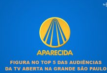 TV APARECIDA FIGURA NO TOP 5
