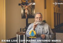 TV APARECIDA EXIBE LIVE DO PADRE ANTONIO MARIA