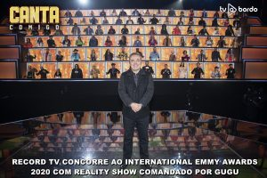Record TV concorre ao International Emmy Awards 2020 com reality show comandado por Gugu