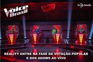 'The Voice Brasil': reality entra na fase da votação popular e dos 'Shows ao Vivo'