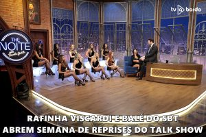 Rafinha Viscardi e balé do SBT abrem semana de reprises do talk show