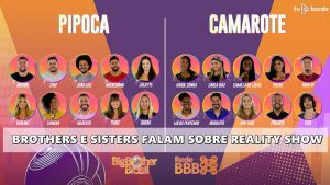 'BBB21': brothers e sisters falam sobre reality show